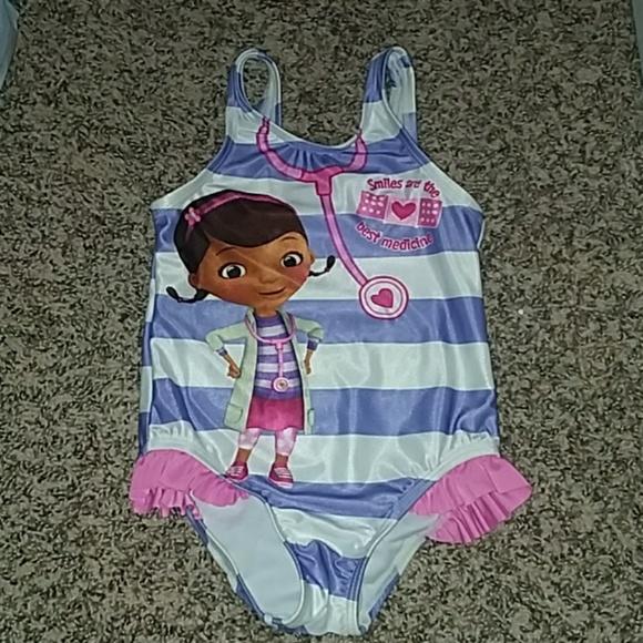 7c54865394f04 Disney Swim | 5 For 25hpx2 Doc Mcstuffins Girls Suit | Poshmark